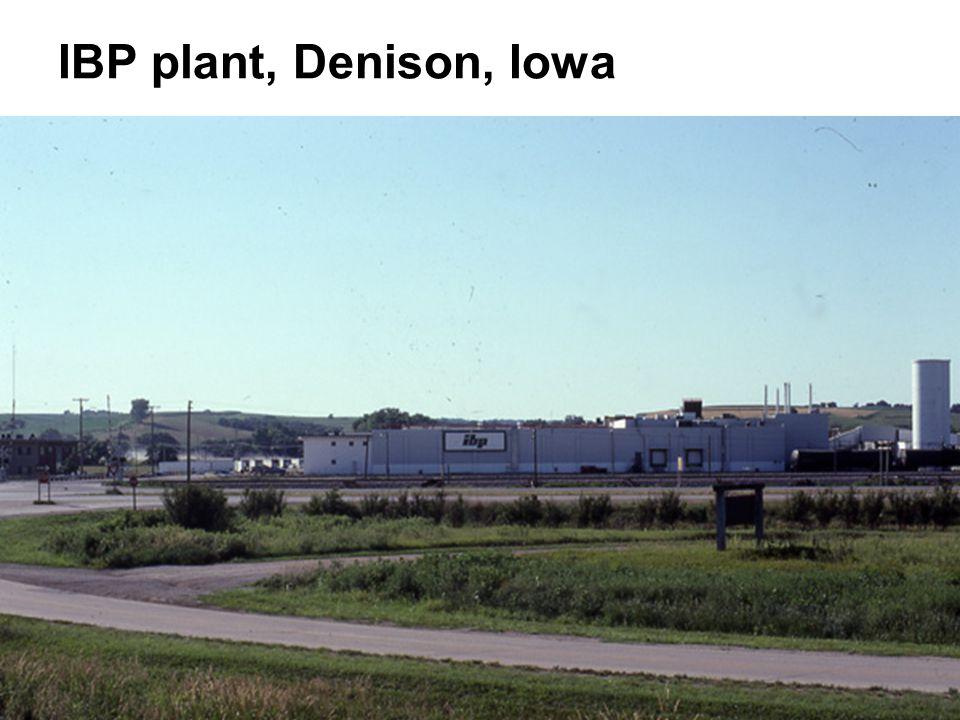 IBP plant, Denison, Iowa