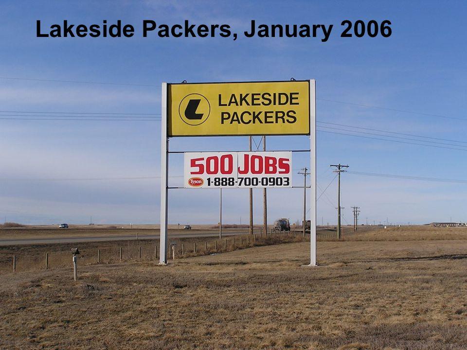 Lakeside Packers, January 2006