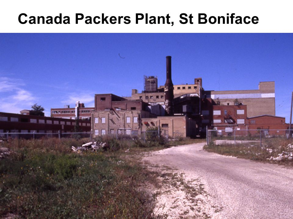 Canada Packers Plant, St Boniface