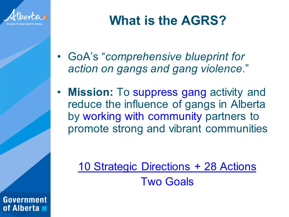 What is the AGRS.