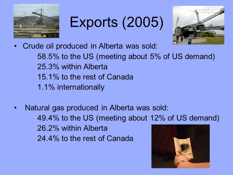 Environmental Protection Current production methods mean that more energy is needed to extract oil from the oil sands compared to conventional oil.