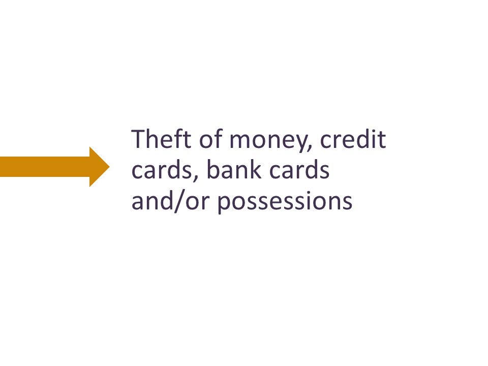 Misuse of an older person's money, such as cashing cheques, or accessing accounts without that person's permission