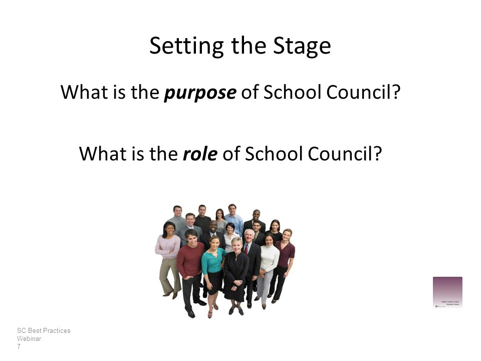 What is the purpose of School Council. What is the role of School Council.