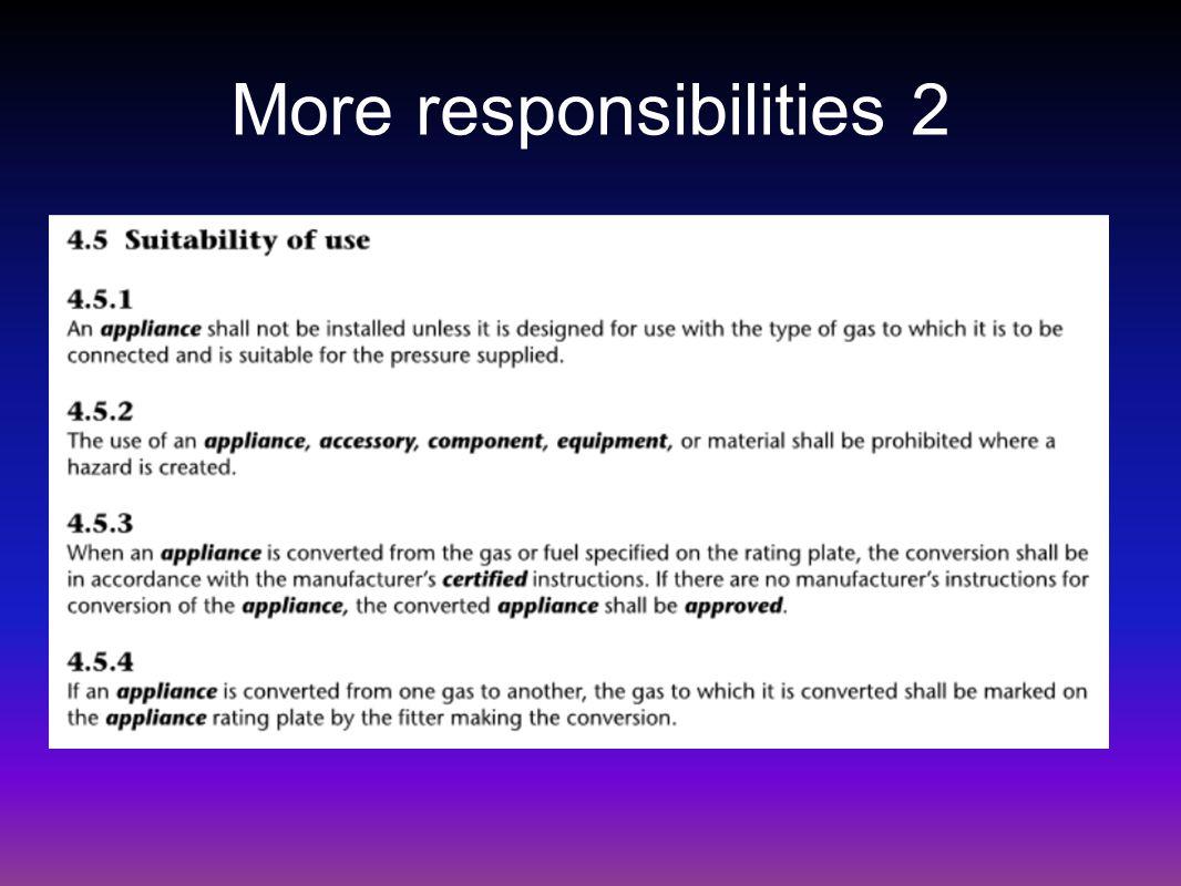 More responsibilities 2