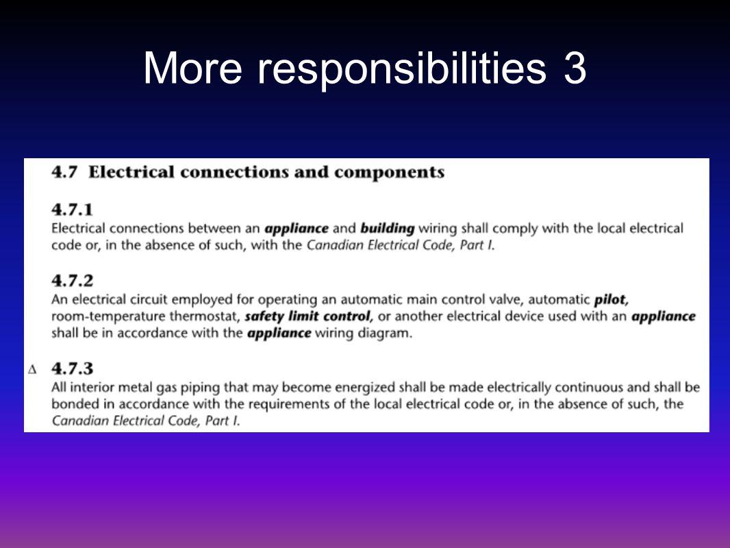 More responsibilities 3