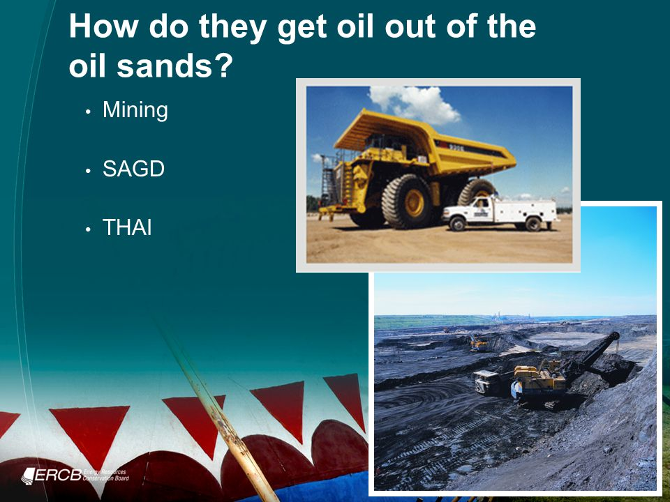 How do they get oil out of the oil sands Mining SAGD THAI
