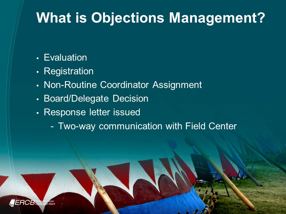 What is Objections Management.