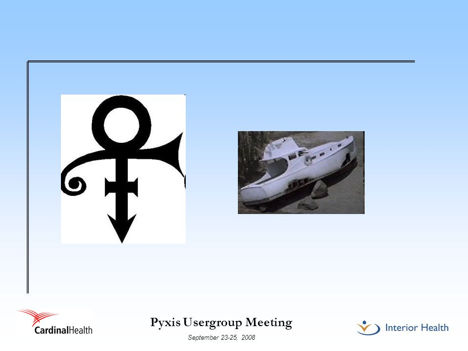 Pyxis Usergroup Meeting September 23-25, 2008 Impact of using Global edit The existing users had access to the original Medstation name, but no access to the revised medstation name, therefore all users needed to be converted such that they could access the medstation under the revised name It was the impression of the Pyxis superuser that this change could be accomplished by performing a Global edit