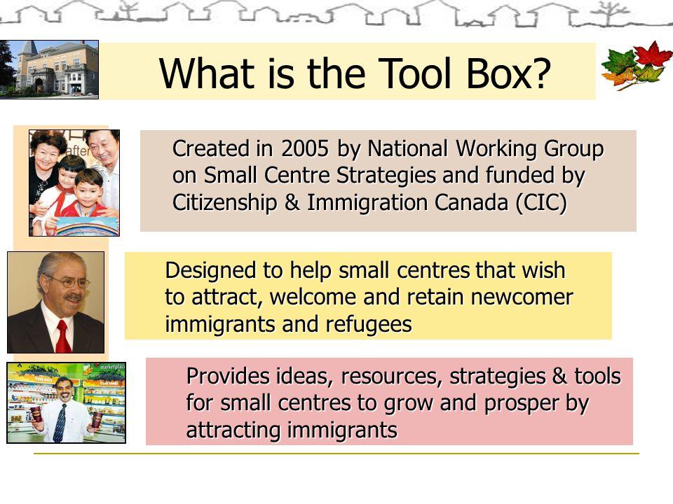 Who Uses the Tool Box.