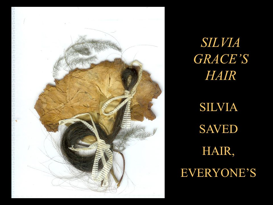 SILVIA GRACE'S HAIR SILVIA SAVED HAIR, EVERYONE'S