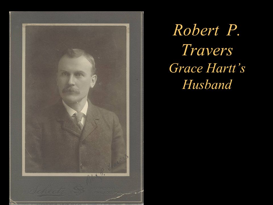Robert P. Travers Grace Hartt's Husband