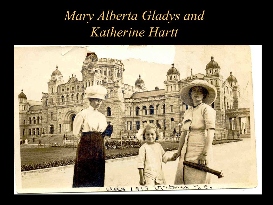 Mary Alberta Gladys and Katherine Hartt
