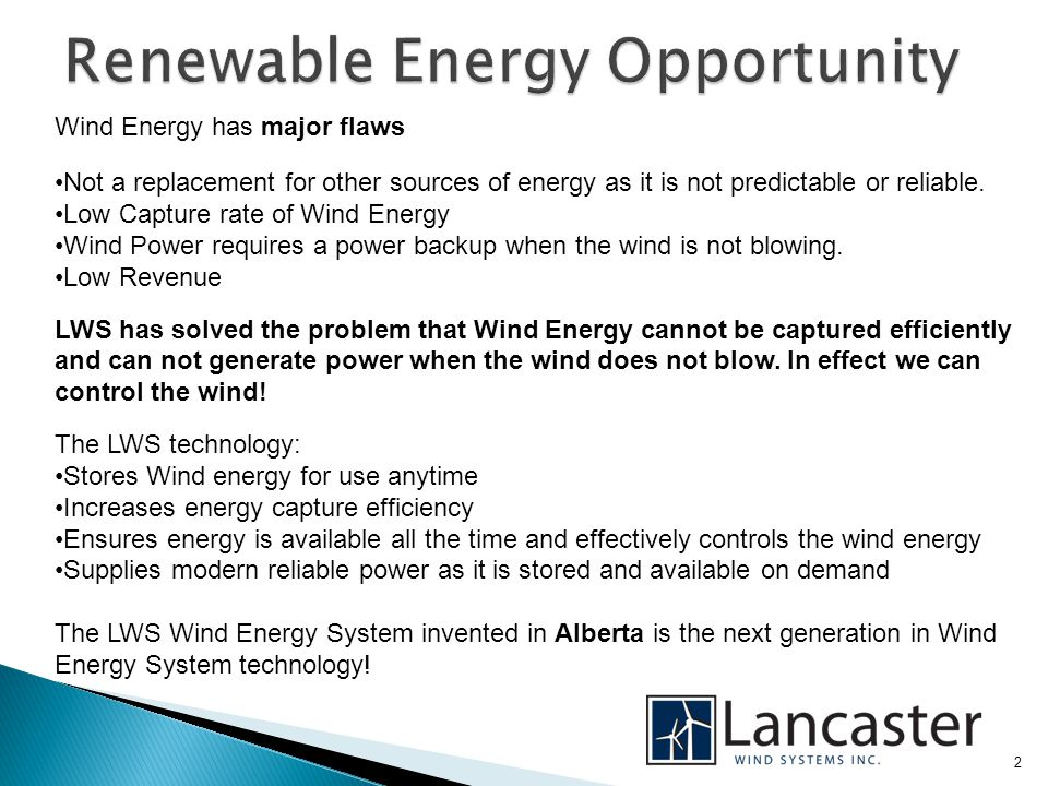 13 LWS will ensure that the applicability criteria, identification of sources and and quantification methodologies for this Project will be determined in accordance with the Alberta Offset System Quantification Protocol for Wind Powered Electricity Generation (AENV, 2008).