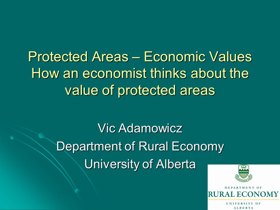 12 Example 1 – Opportunity Cost Approach Biodiversity Conservation in the Boreal Forest Biodiversity Conservation in the Boreal Forest What are the tradeoffs (economic impact of alternate biodiversity objectives).