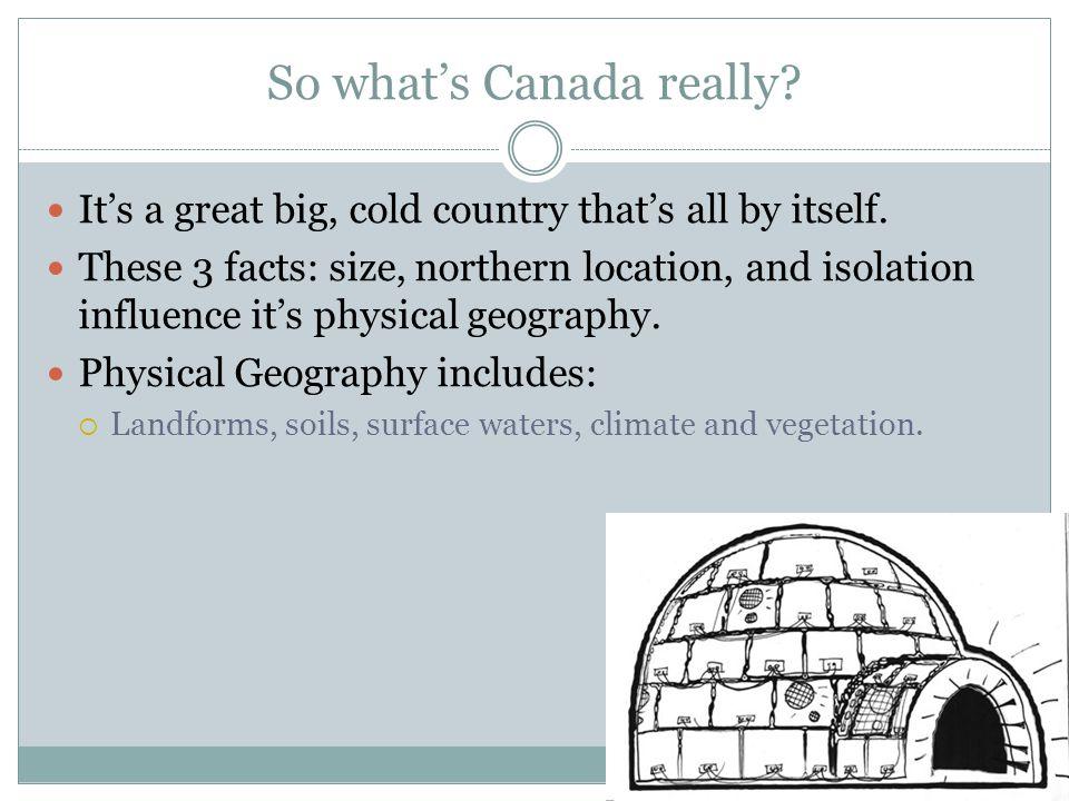 6) Atlantic Region Covers 2 percent of Canada's area.