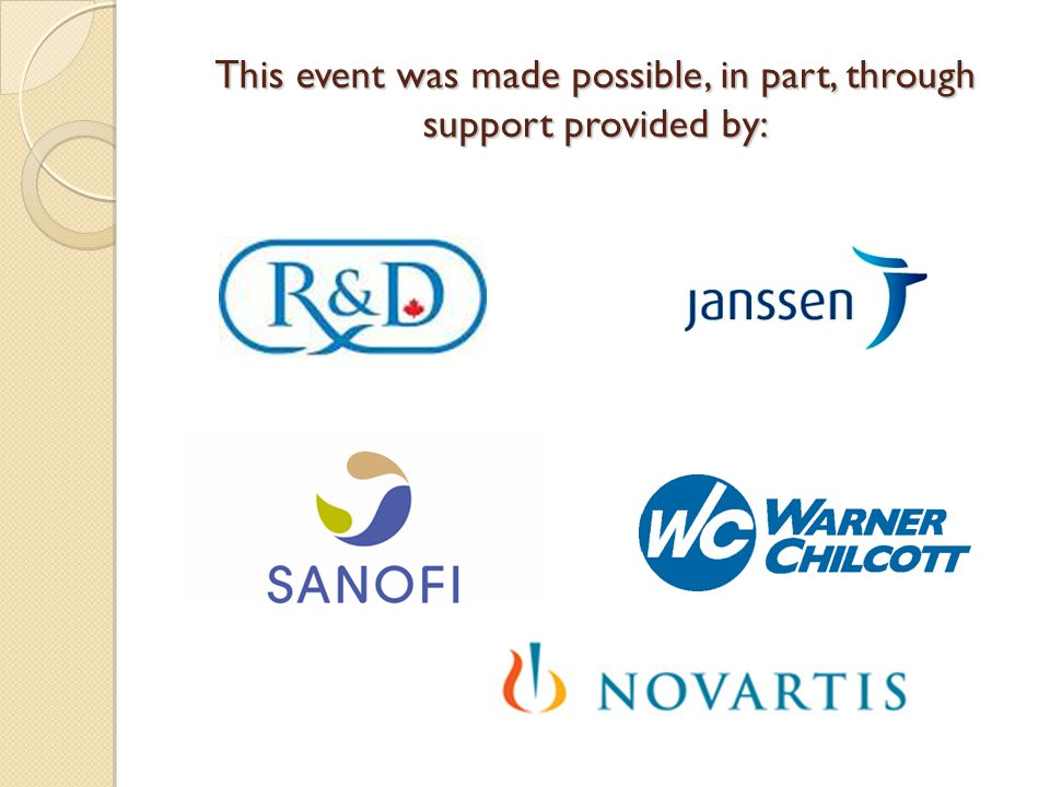 This event was made possible, in part, through support provided by: