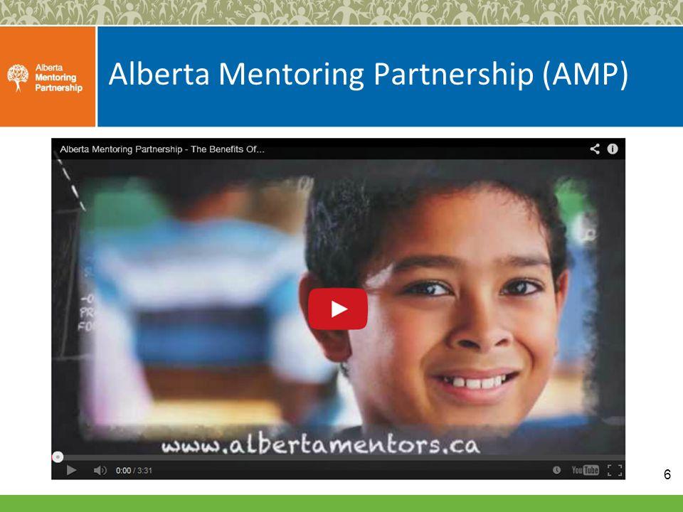 Alberta Mentoring Partnership (AMP) 6