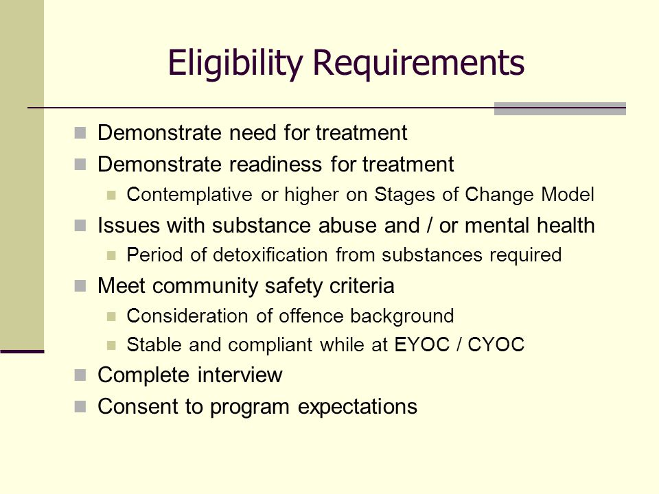 Managing temptations for substances in a community setting Healthy milieu encourages resident transparency and responsibility Length of time in treatment Addressing complex issues of addictions and mental health in a holistic manner, youth do voluntarily stay past legal mandates, utilizing resources pre and post Bridges Budgetary cuts across ministries Staying ahead of curve, ongoing review of core curriculum, adaptive programming components based on fiscal realities Challenges & Successes