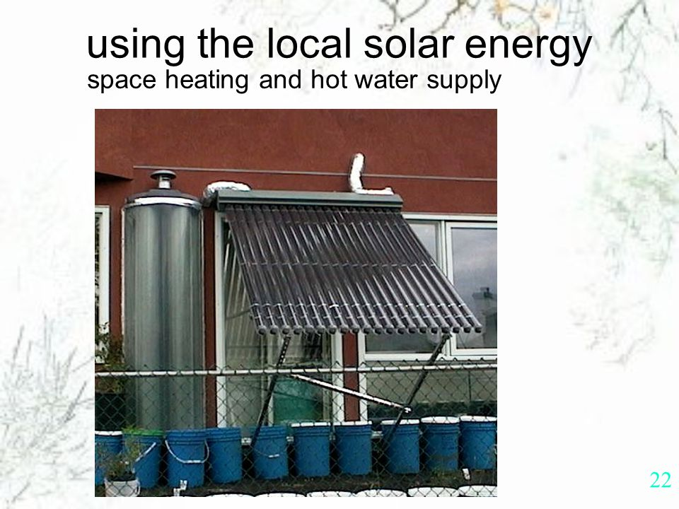 21 solar PV (photovoltaic) system