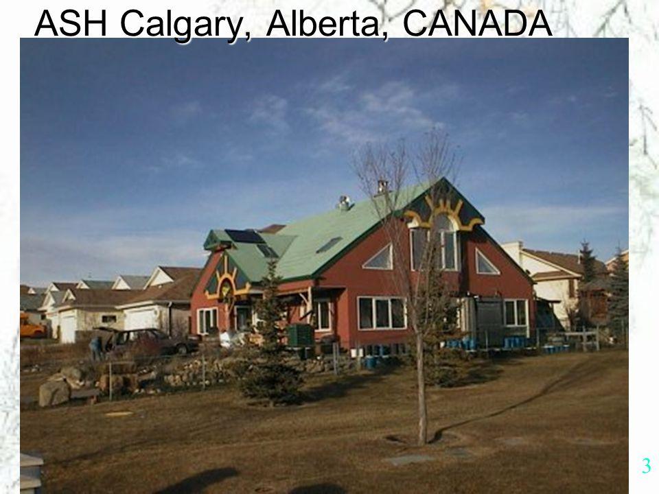 2 Alberta Sustainable Home/Office Autonomous Autonomous Sustainable Sustainable Housing Housing Jorg Ostrowski, M.Arch.A.S.