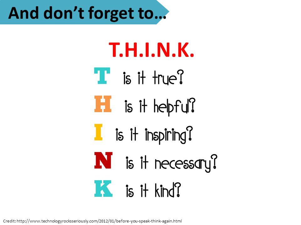 T.H.I.N.K.