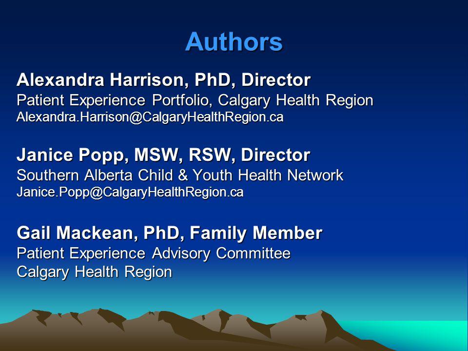 Health Regions in Alberta, Canada