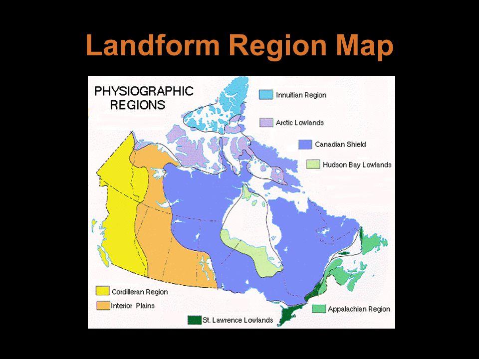 Landform Region Map