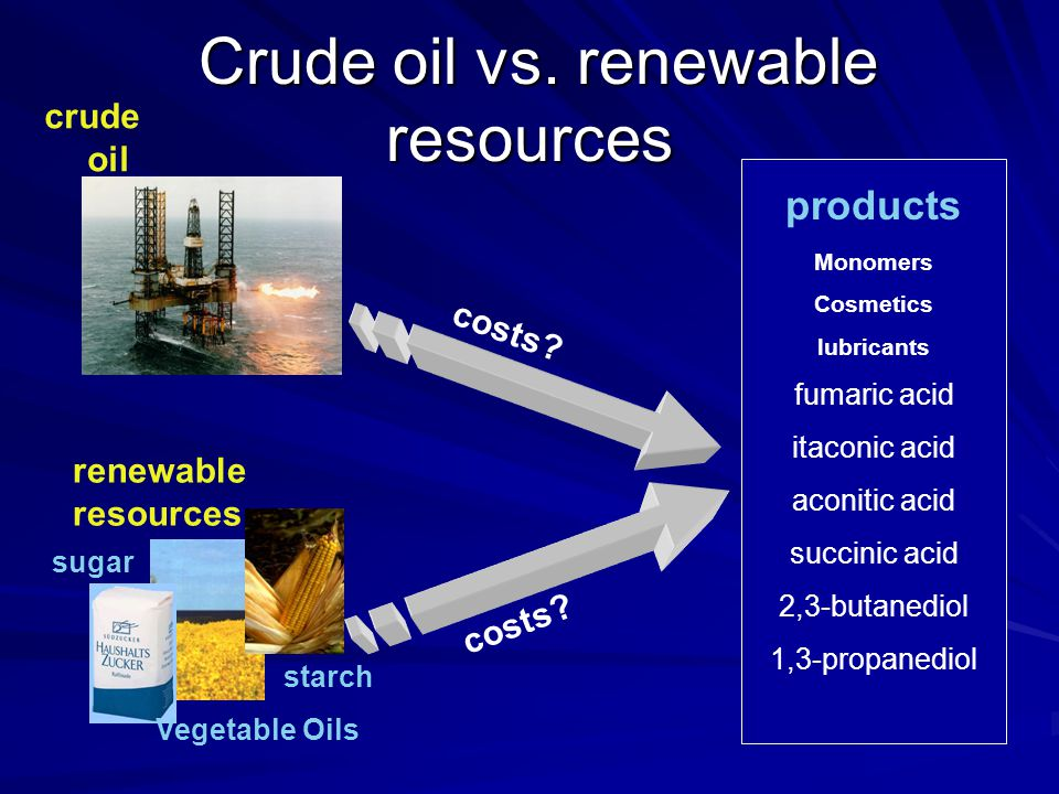 The Objectives (con't) 3.Scale up processes that are economic and technically feasible.