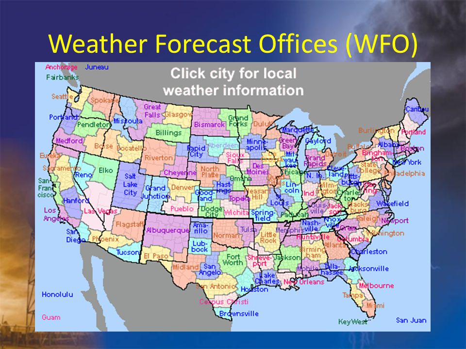 National Weather Service WFO Chanhassen, MN Located about 25 miles west of Minneapolis/St.