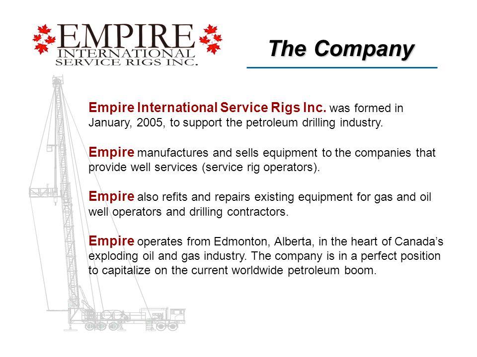 Empire International Service Rigs Inc.