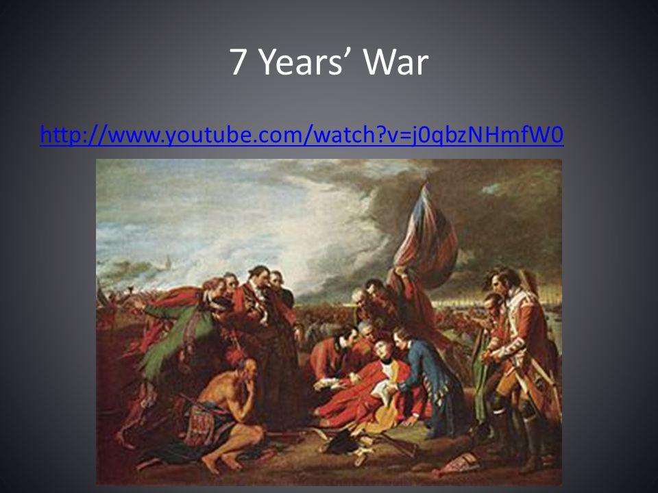 7 Years' War http://www.youtube.com/watch?v=j0qbzNHmfW0
