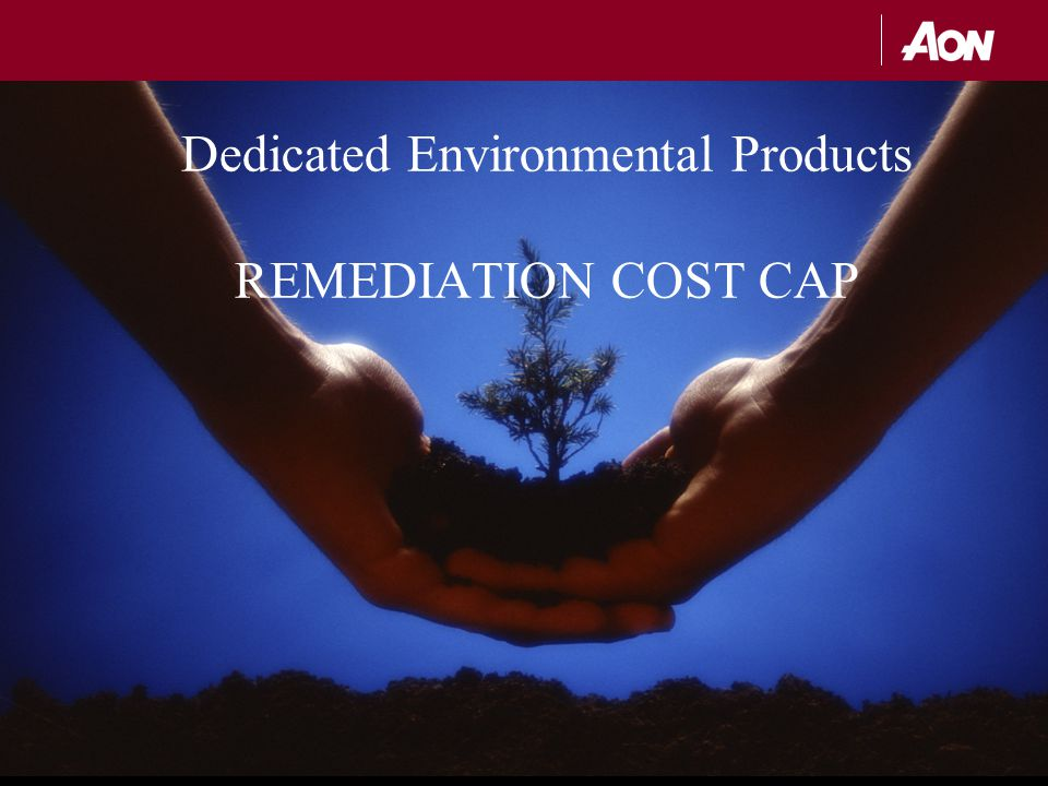 Dedicated Environmental Products REMEDIATION COST CAP