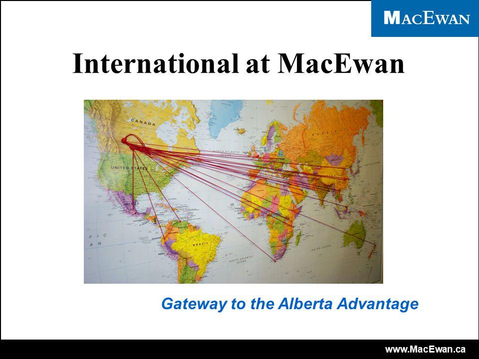 www.MacEwan.ca MacEwan Campuses MacEwan South Campus