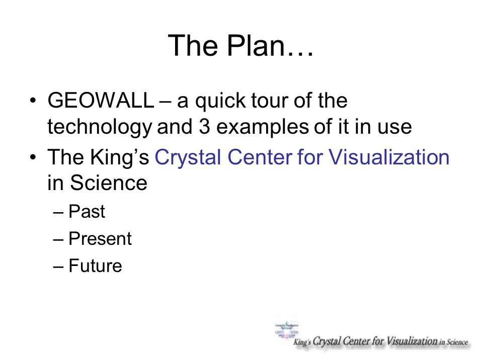 Welcome to GEOWALL.