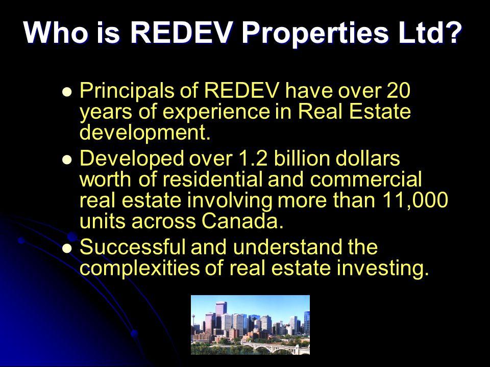 Who is REDEV Properties Ltd.