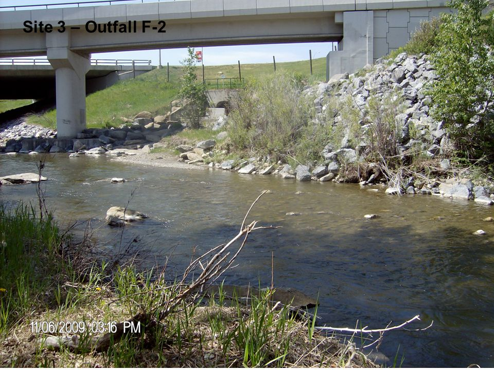 Site 3 – Outfall F-2