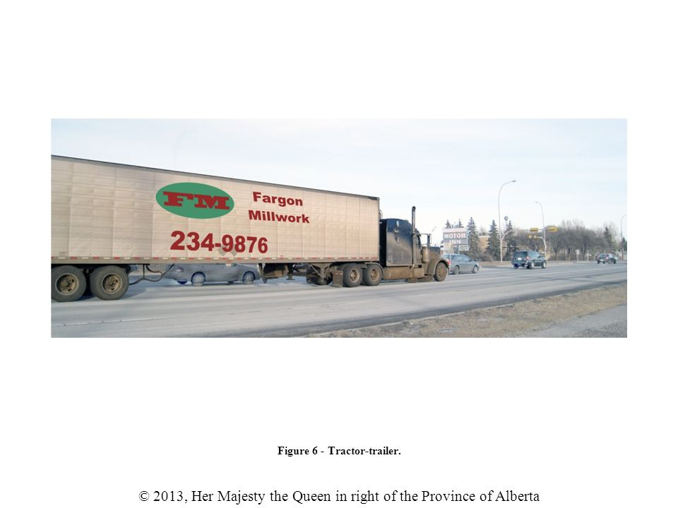 © 2013, Her Majesty the Queen in right of the Province of Alberta Table 2 - Typical bill of lading.