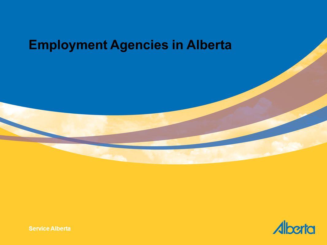 Employment Agencies in Alberta Service Alberta