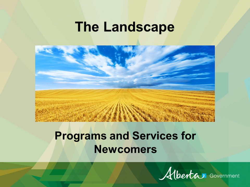 Resource Guide Provides information and links for available programs and services in Alberta.