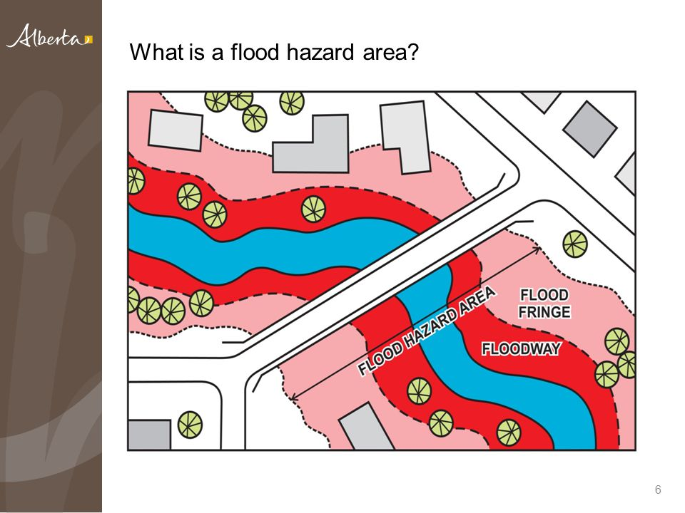 6 What is a flood hazard area?