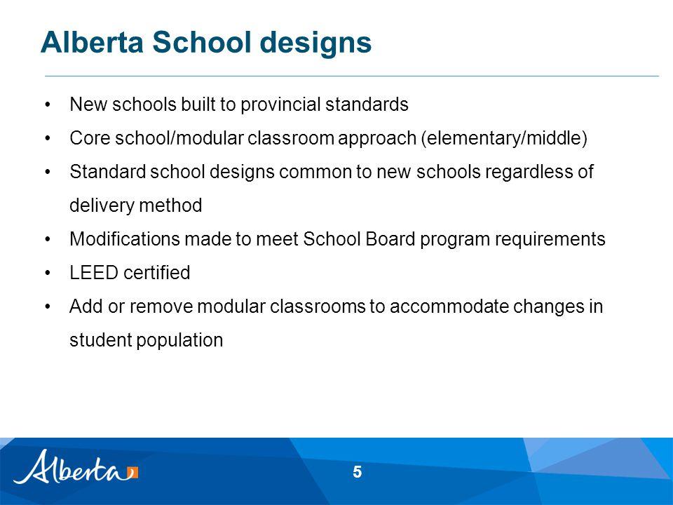 Alberta School designs 6