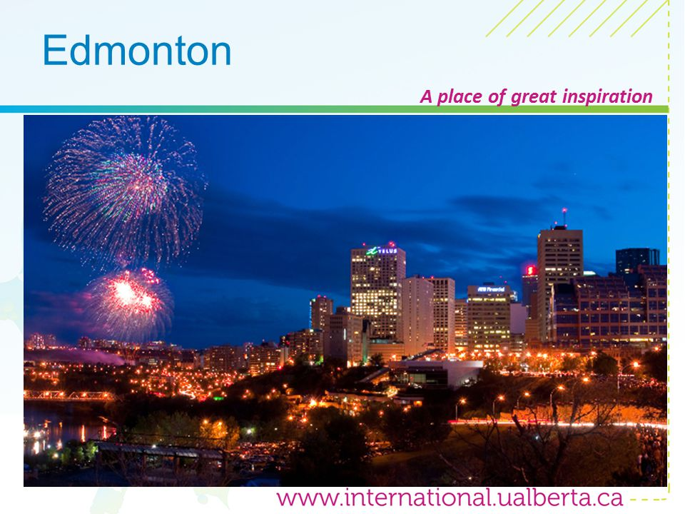 Edmonton A place of great inspiration