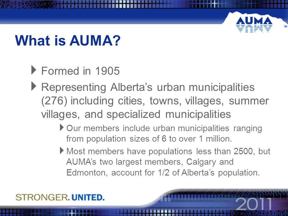 What is AUMA.