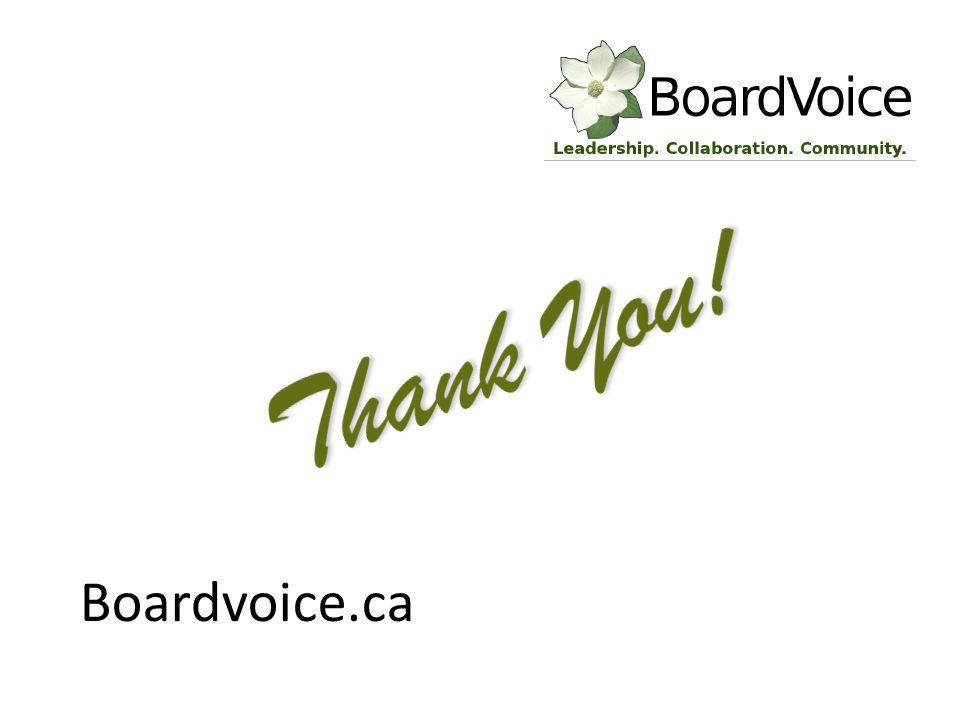 Boardvoice.ca
