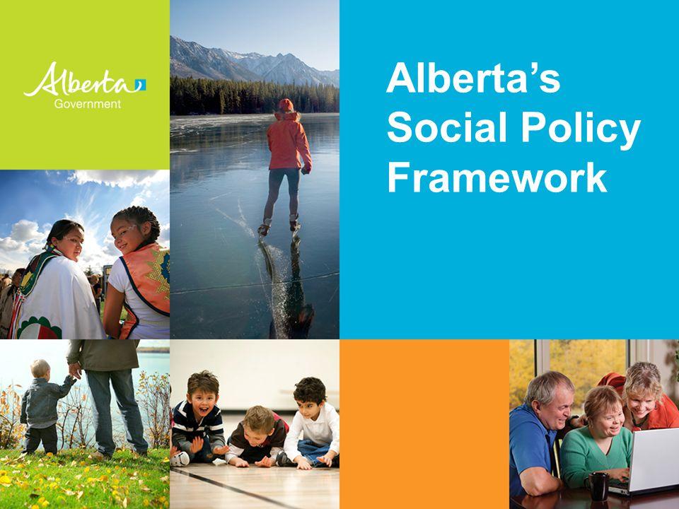 Alberta's Social Policy Framework