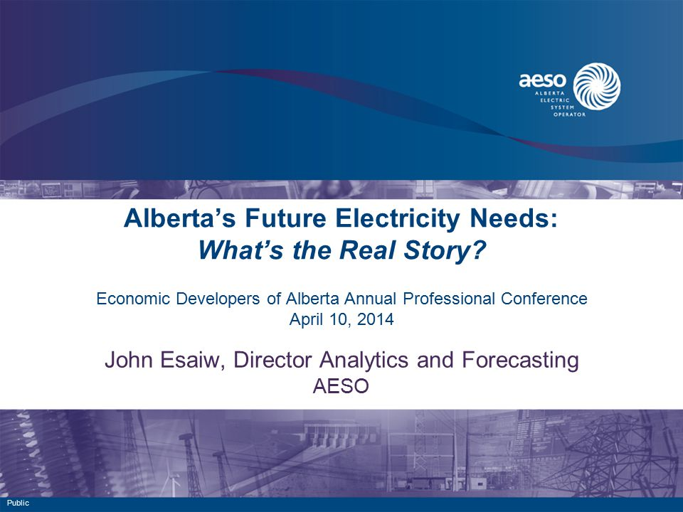 Alberta's Future Electricity Needs: What's the Real Story.