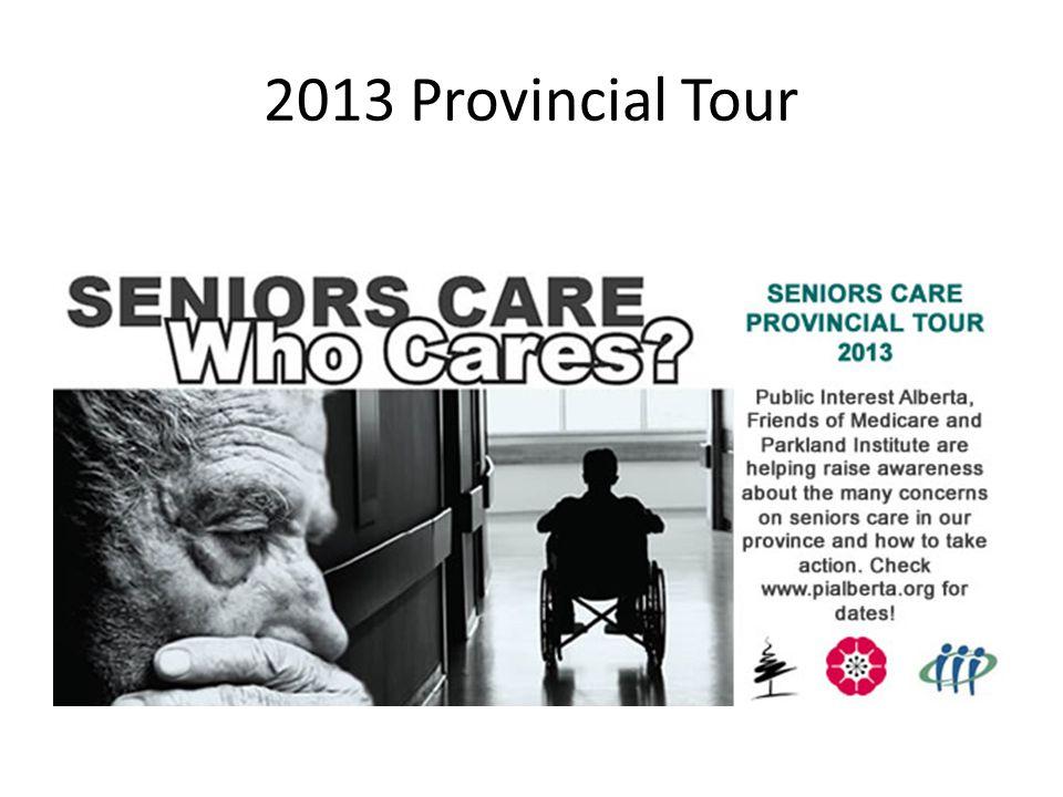 2013 Provincial Tour