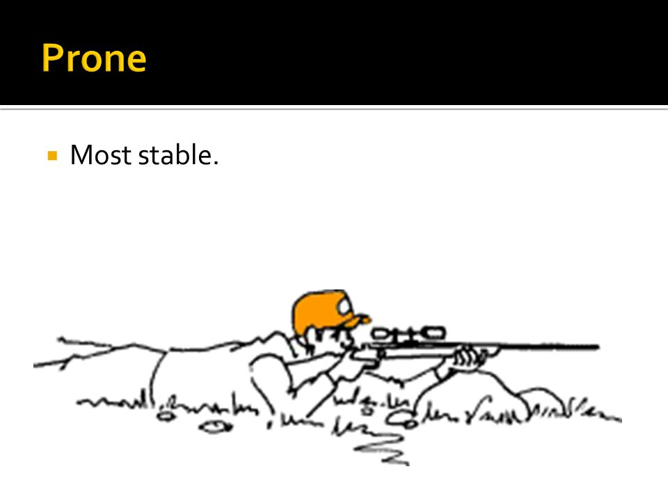  Most stable.