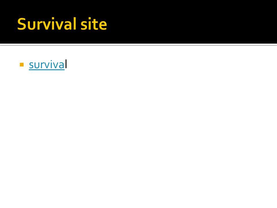 survival surviva