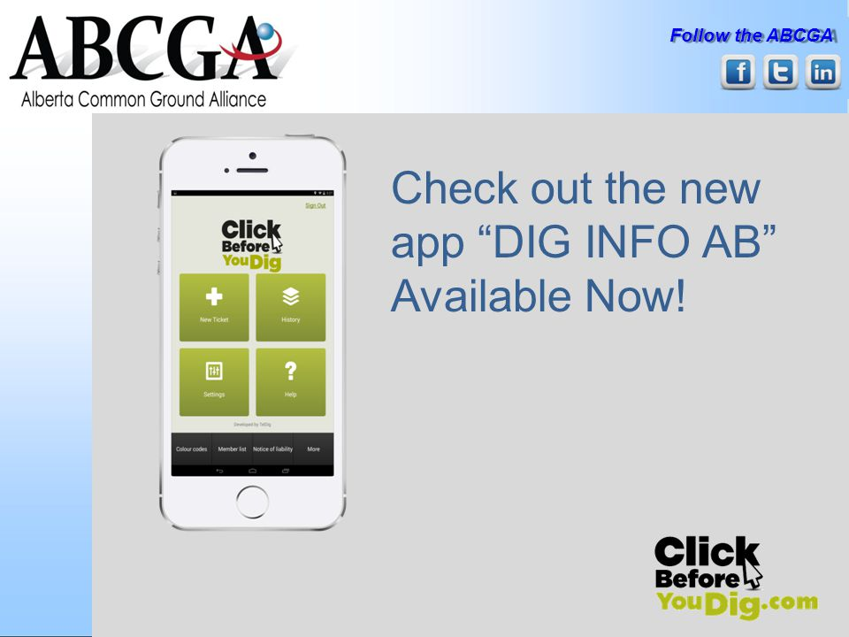 Check out the new app DIG INFO AB Available Now!